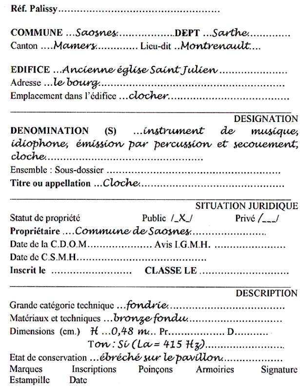 Cl saosnes texte 1