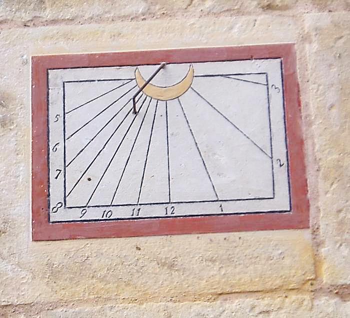 Rh cadran solaire saint georges du rosay