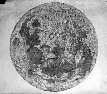 Rh st g rosay cassini image de la lune